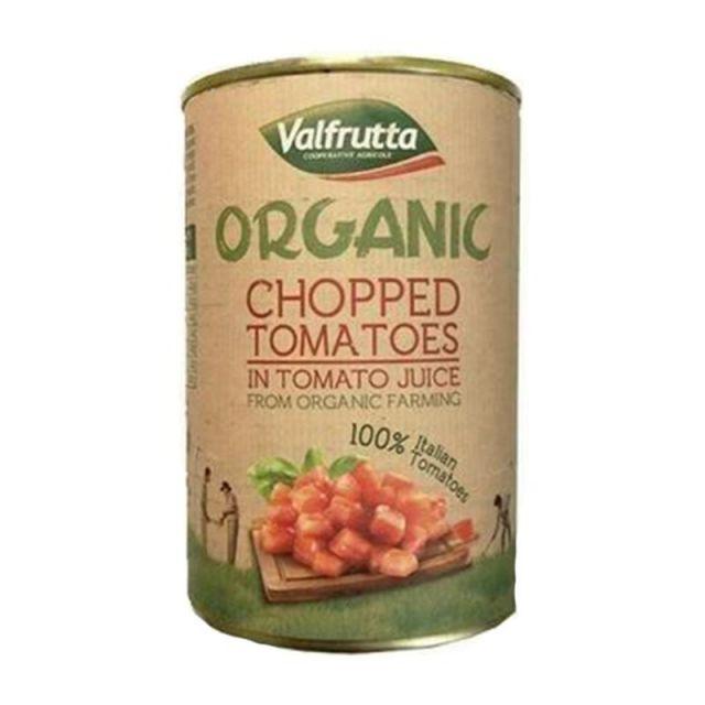Valfrutta Organic Tin Chopped Tomatoes