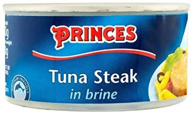 Princes Tin Tuna Steak in Brine