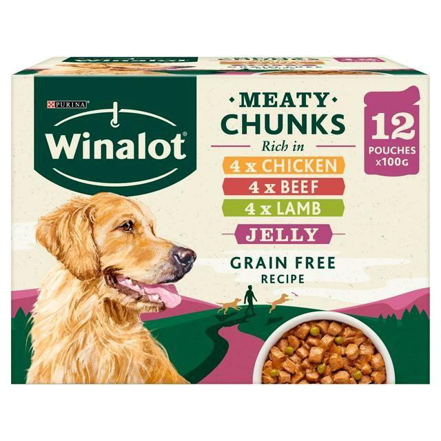 Winalot Meat Chunks In Jelly