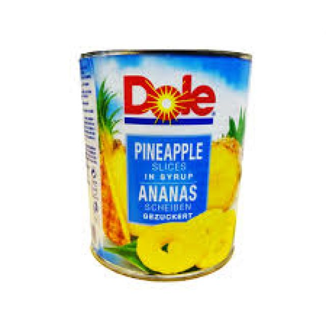 Dole Pineapple Slices In Syrup