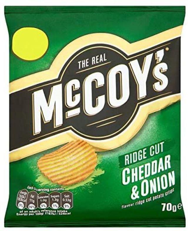 McCoy's Cheddar & Onion