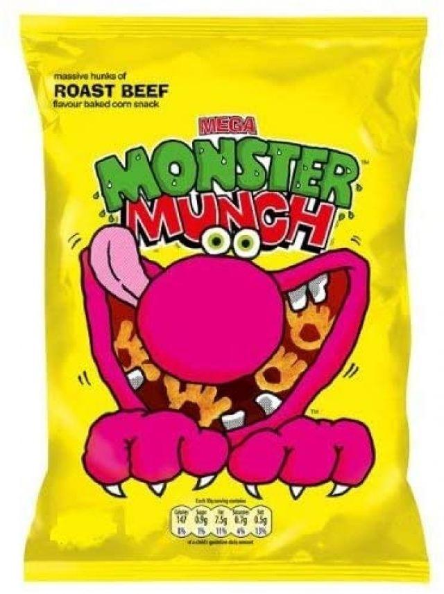 Walkers Monster Munch Roast Beef