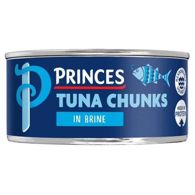 Princes Tin Tuna Chunks in Brine