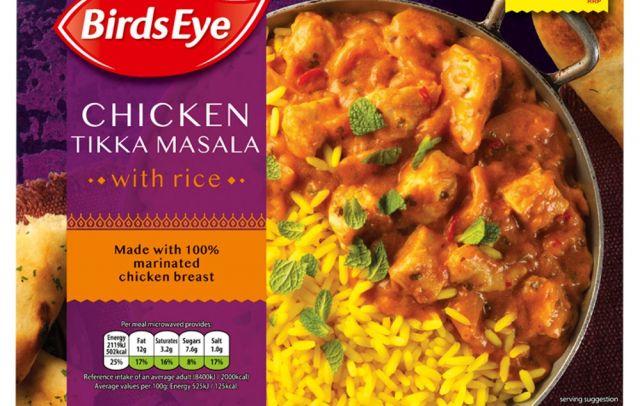 Birds Eye Chicken Tikka Masala With Rice
