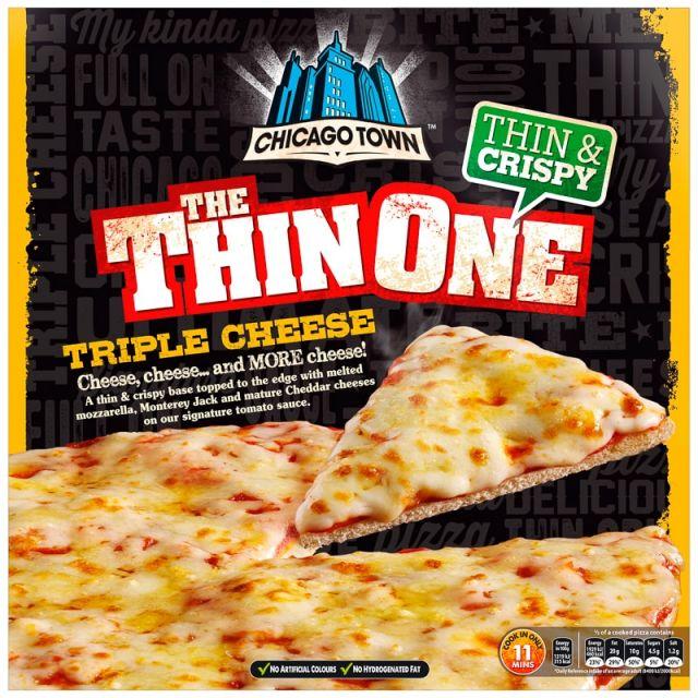 Chicago Town Thin & Crispy Triple Cheese