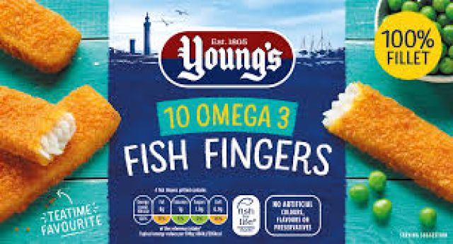 Young's 10 Fish Fingers