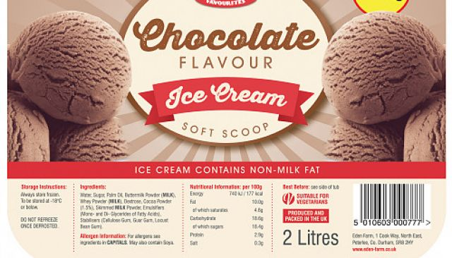 Farmer Jack's Chocolate Ice Cream
