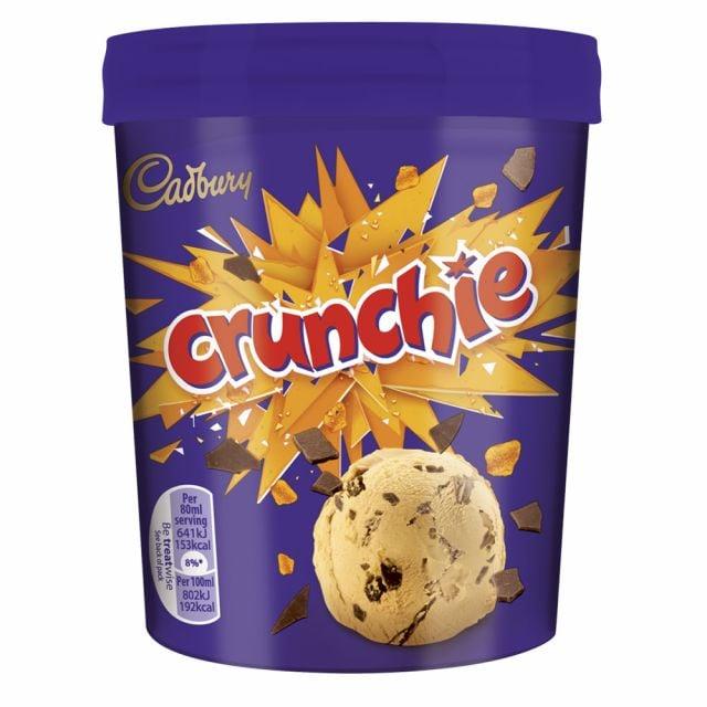 Cadbury Crunchie Ice Cream