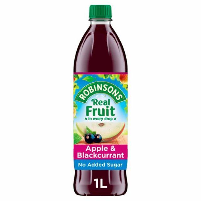 Robinsons Apple & Blackcurrant 1l