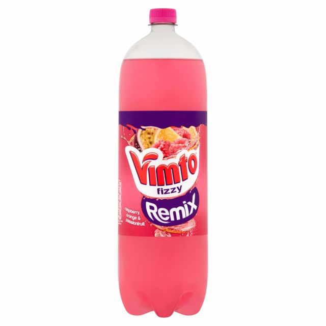 Vimto Fizzy Remix Rasperry Orange & Passionfruit 2l