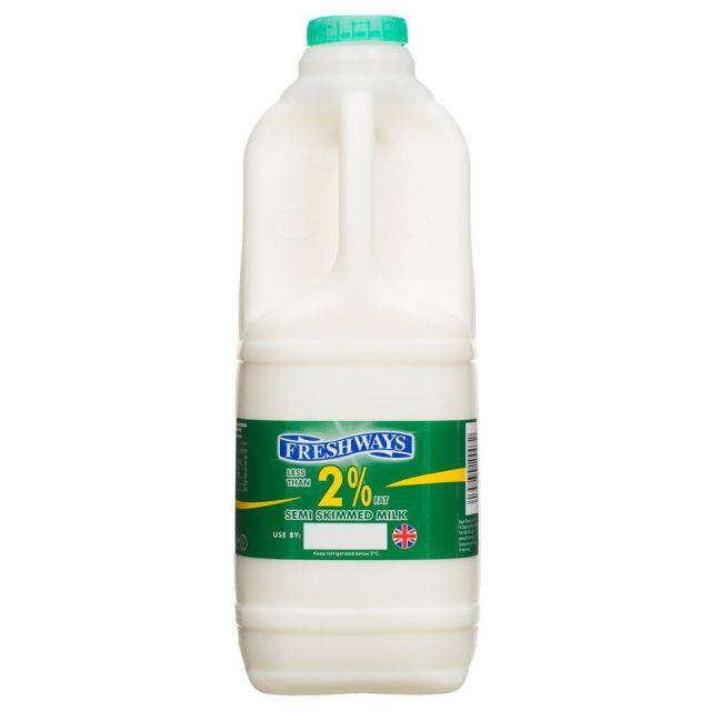 Freshways Semi Skimmed Milk 2l