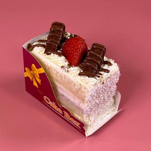 SL030 Bounty Cake Slice