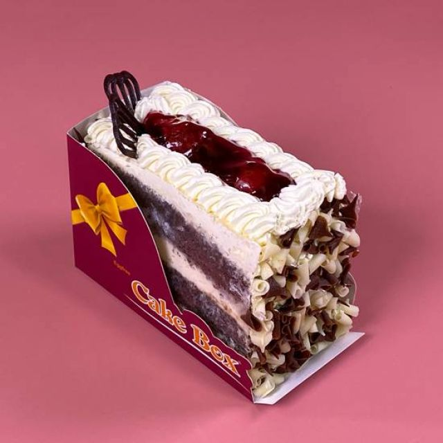 SL040 Black Forest Cake Slice