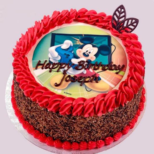 """UR310 10"""" Mickey Mouse Cake"""