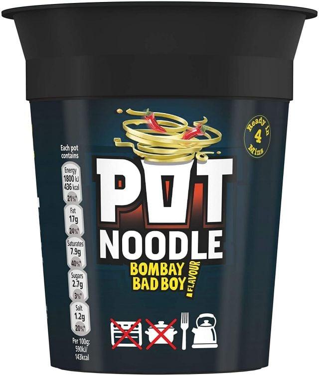 Pot Noodle Bombay Bad Boy