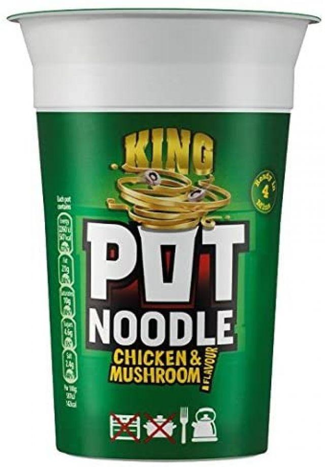 Pot Noodle Chicken & Mushroom King Size