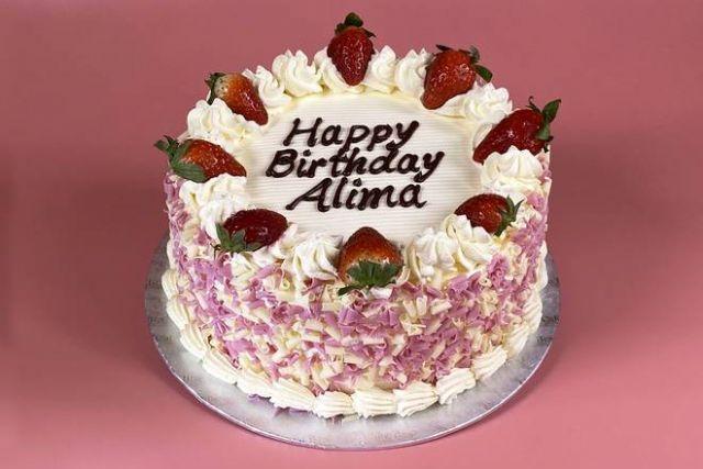 """UR181 8"""" & 10"""" Victoria Cake"""