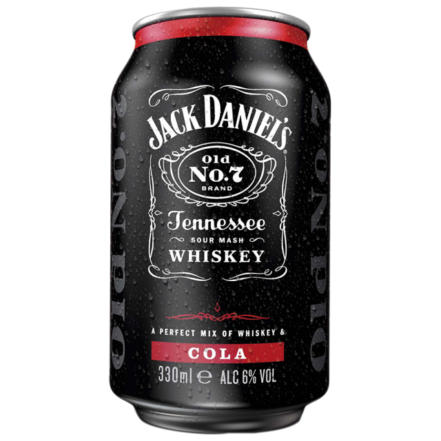 Whisky Jack Daniel's Tennessee & Cola
