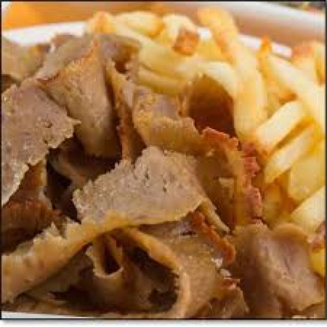 Lamb Doner With Chips