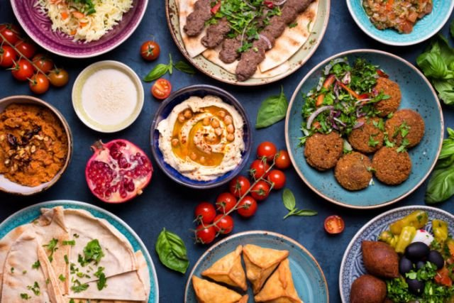 Mixed Cold Mezze (4 Persons)