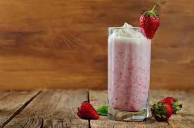 Strawberry Frappe