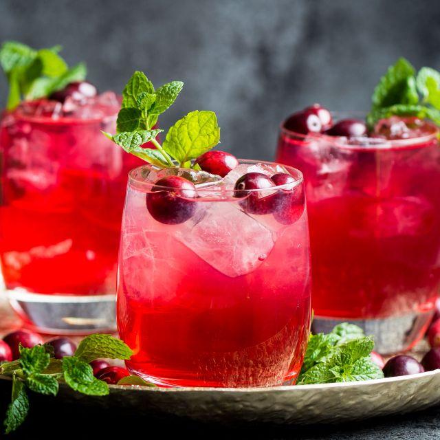 Cranberry & Lime Mocktail