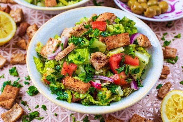Vegan Fattoush Salad