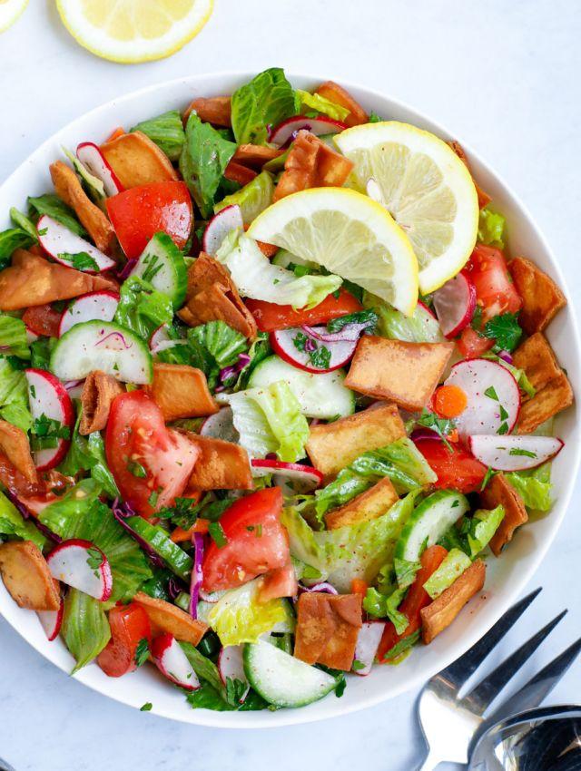 Vegan Lebanese Salad