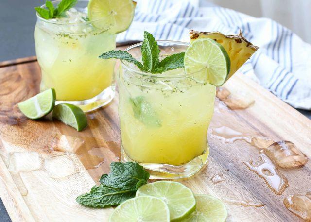 Pineapple & Mint Mocktail