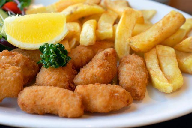 Cod Bites Meal