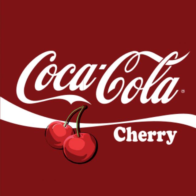 Cherry Coke Can