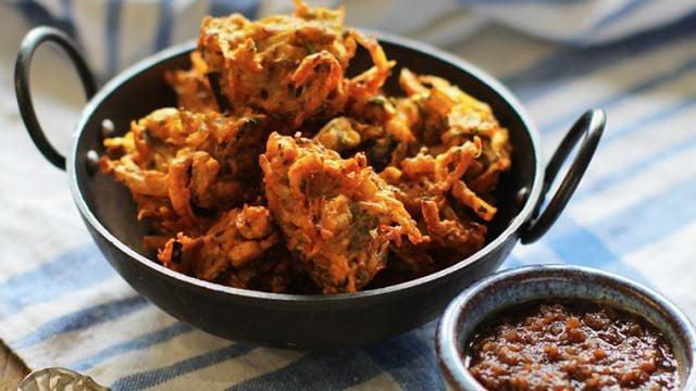 Vegetable Pakora Portion