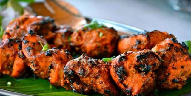 Chicken Shish Tikka (4 pieces)