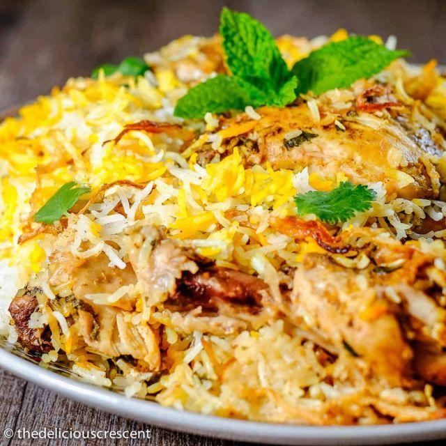 Chicken Biryani (Boneless)