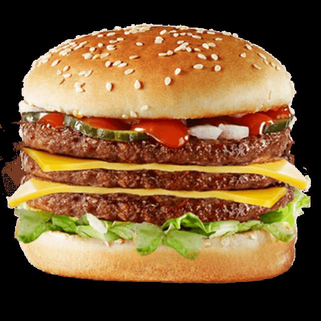 Triple Decker Burger
