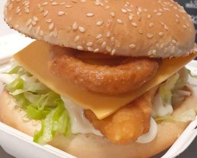 Chicken Ranch Burger