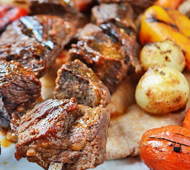 Lamb Shish Tikka (Cubes) Kebab