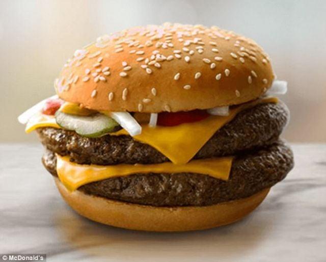 Half Pounder Cheeseburger