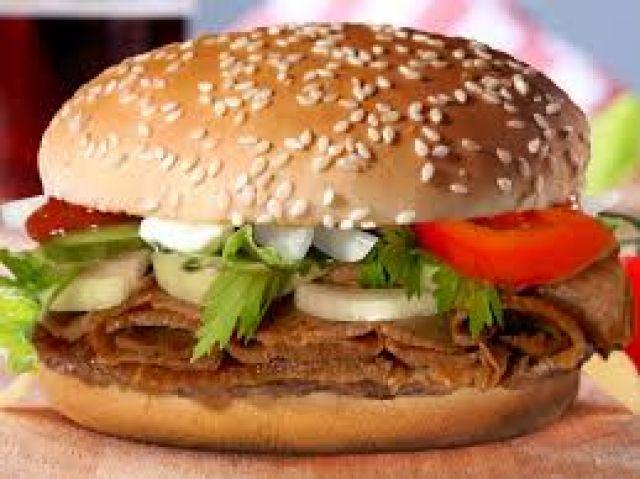 Lamb Donner Burger
