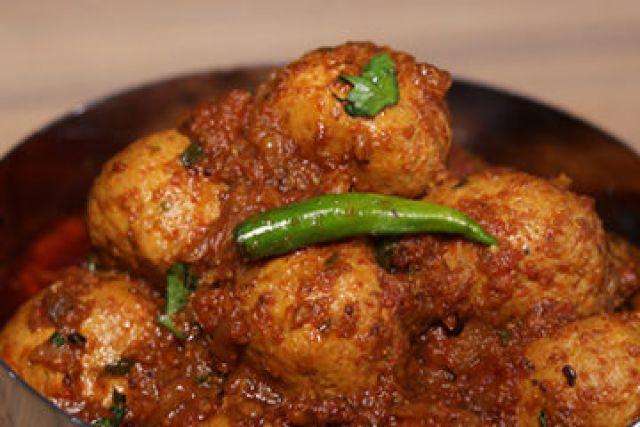 Chicken Kofta Karahi