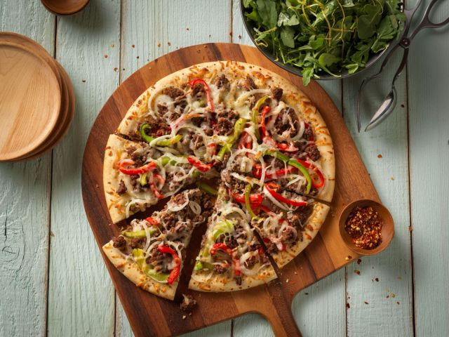 Keema Pizza