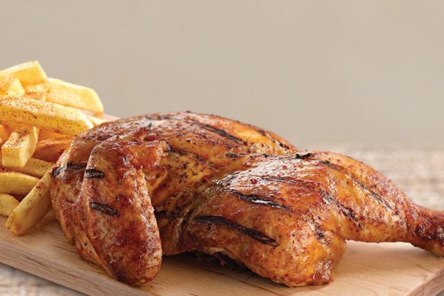 1/2 Grilled Peri Peri Chicken