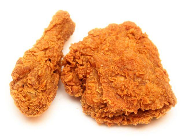 2pcs Fried Chicken & 2 Wings