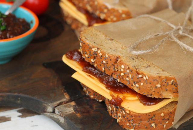 Cheese & Pickle Sandwich
