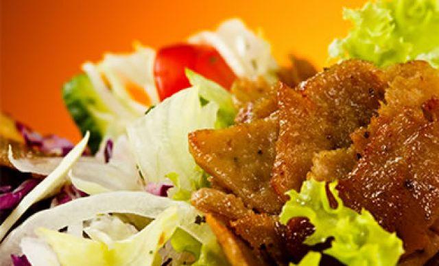 Doner Meat & Salad