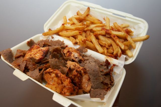 Mixed Kebab Doner/Chicken on Chips