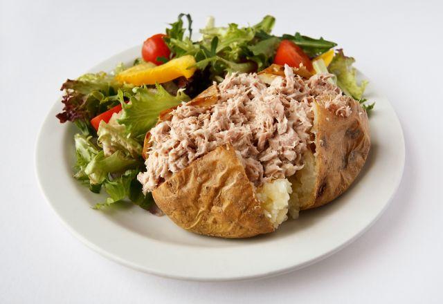 Jacket Potato & Tuna Mayo