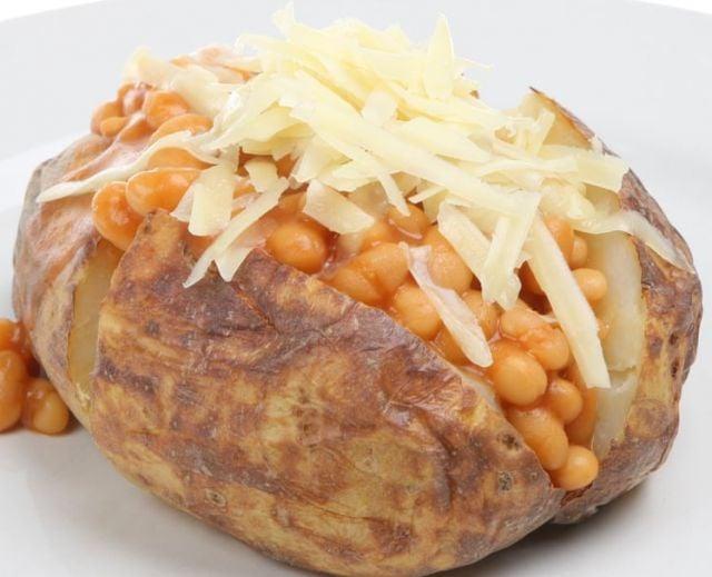 Jacket Potato & Cheese & Beans
