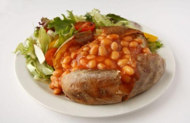 Jacket Potato & Beans