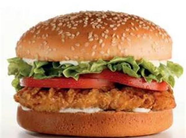 Spicy Chicken Fillet Burger